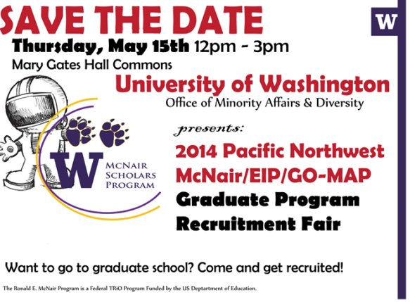 Save The Day: Graduate School Recruitment Fair